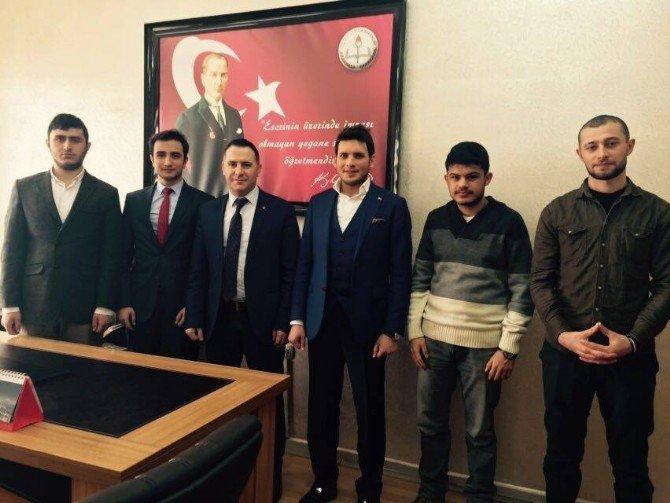 Erzurum Gençlik Meclisi'nden İstişare Ziyaretleri