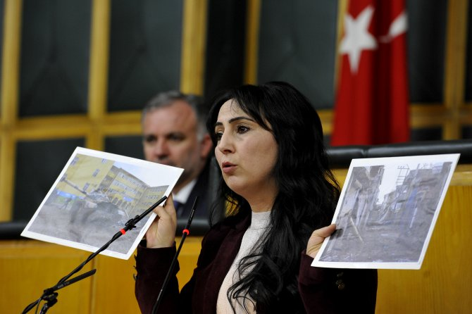 Figen Yüksekdağ: 'Başarı' dedikleri yer virana dönüştürülmüş bir şehir