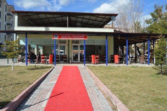 Belediye Sosyal Tesisleri Hizmete Girdi