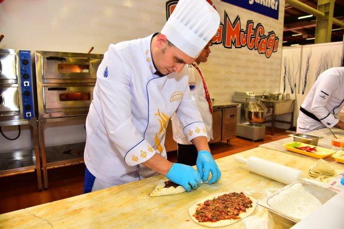 İstanbul'un aşçıları gastronomi yarışmasına damga vurdu
