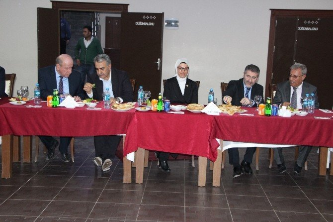 Nebati Başkanlığındaki AK Partili Heyet Silopi'de