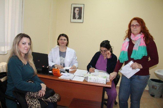 30 Yaş Üzeri Kadınlar Kanser Taramasından Geçti