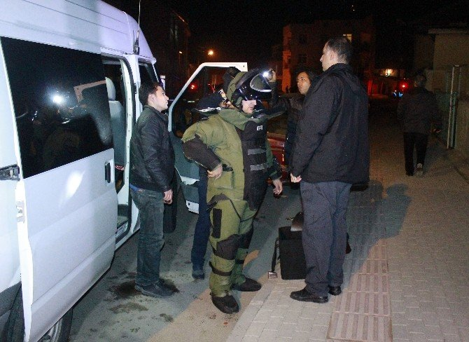 Karaman'da Şüpheli Valiz Paniği