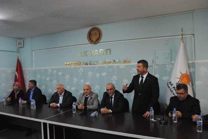 AK Parti Heyeti İlçeleri Ziyaret Etti