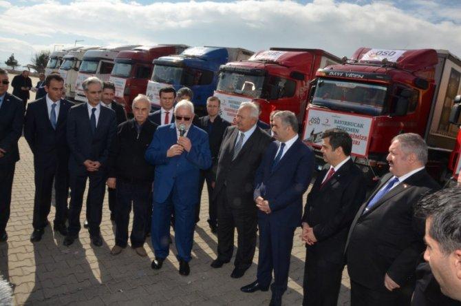 Kayserili işadamlarından Bayırbucak Türkmenleri'ne yardım
