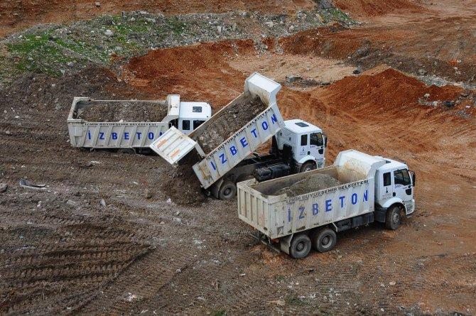 İzmir'de yeni hafriyat döküm sahası açıldı