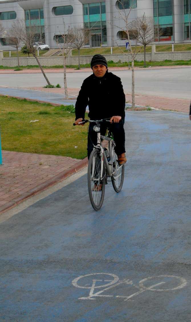 Konya'da bisiklet yolu ağı 447 kilometreye ulaştı