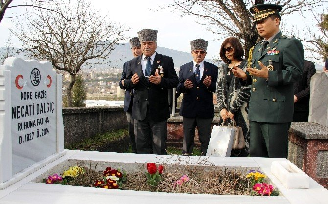 Kore Cumhuriyeti Savunma Ataşesi'nden Duygulandıran Ziyaret