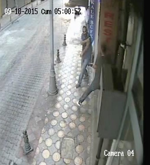 Pompalı tüfekle cinayet görüntüleri ortaya çıktı