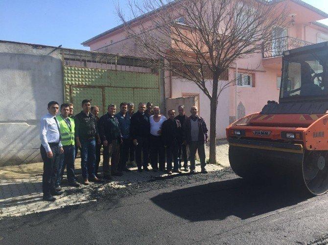 Akhisar'da 12 Mahalleyi Birbirine Bağlayan Çalışma
