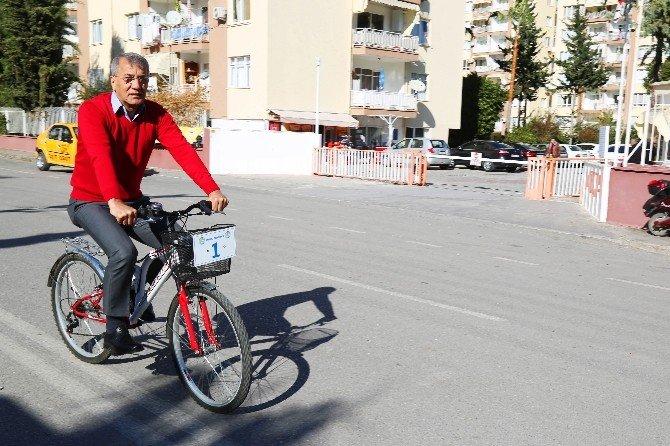 Mezitli Belediyesi'nde Bisiklet Devri