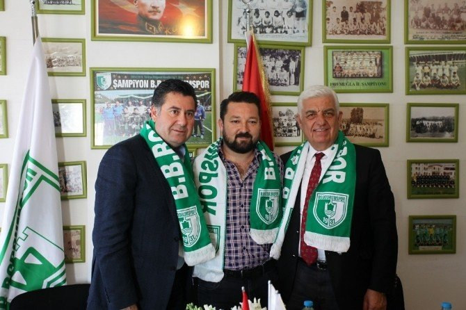 Başkanlar Bodrumspor'u Ziyaret Etti