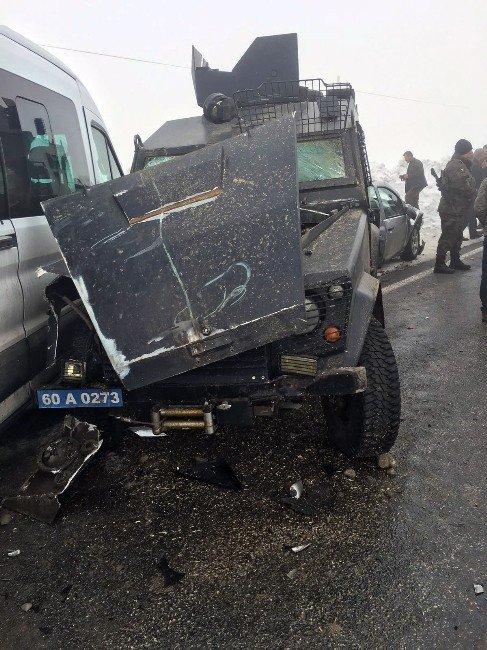 Muş'ta Zincirleme Kaza: 7 Yaralı