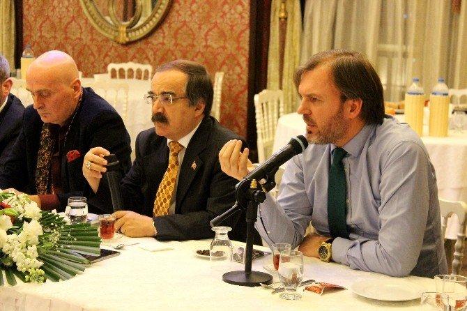 Gazeteci Ergün Diler Ve Bekir Hazar, Platformun Konuğu Oldu