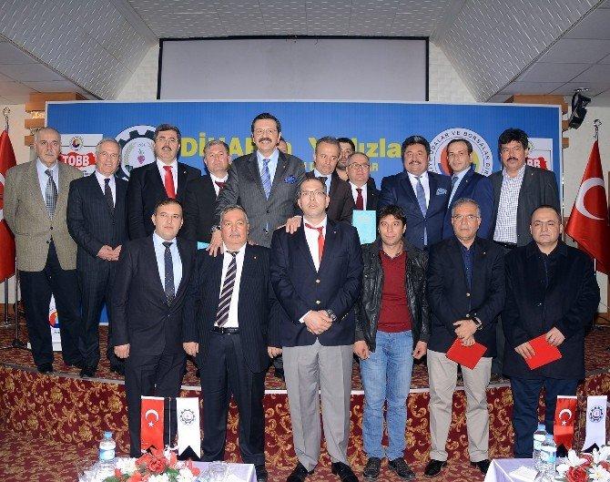 TOBB Başkanı Hisarcıklıoğlu Afyonkarahisar'da