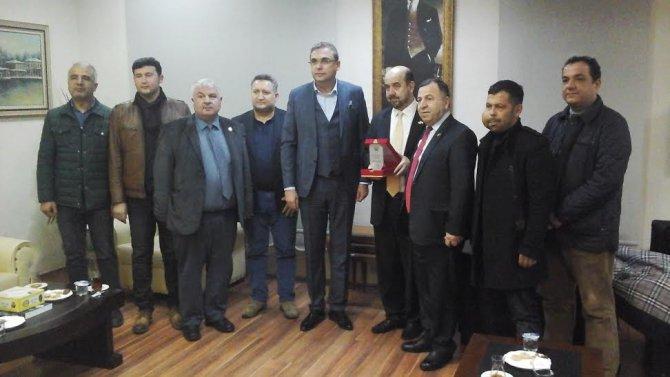 Romanya Türkiye Ticaret ve Sanayi Odası'ndan OTSO'ya ziyaret