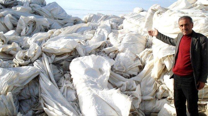 Ömrünü Tamamlayan Naylon Örtüler 35 Milyon Zarara Neden Oldu