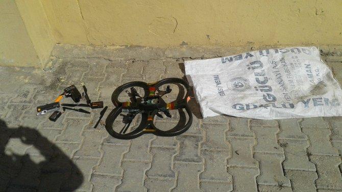 Cizre'deki aramalarda bir Dron ele geçirildi