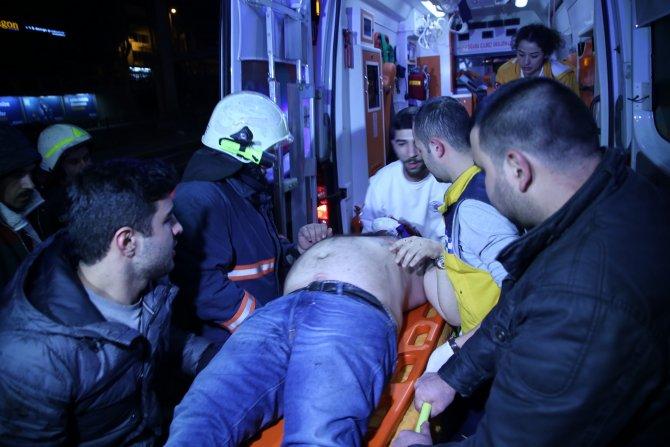 Şişli'de kaza: 1 ağır yaralı