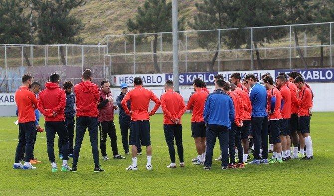 Trabzonspor, Galatasaray Maçı Hazırlıklarına Moralli Başladı