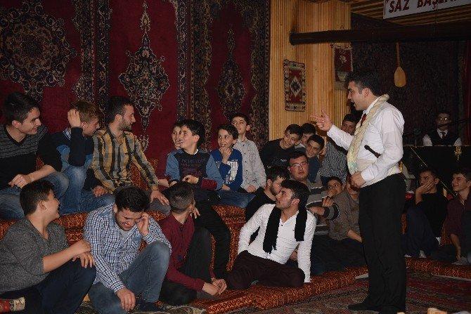Tosya Ahi Ve Yaren Derneği Kur'an Bülbülleri İçin Ocak Yaktı