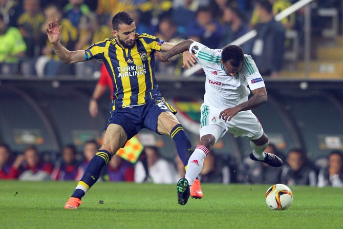 Fenerbahçe: 1 - Lokomotiv Moskova: 0 (İlk yarı)