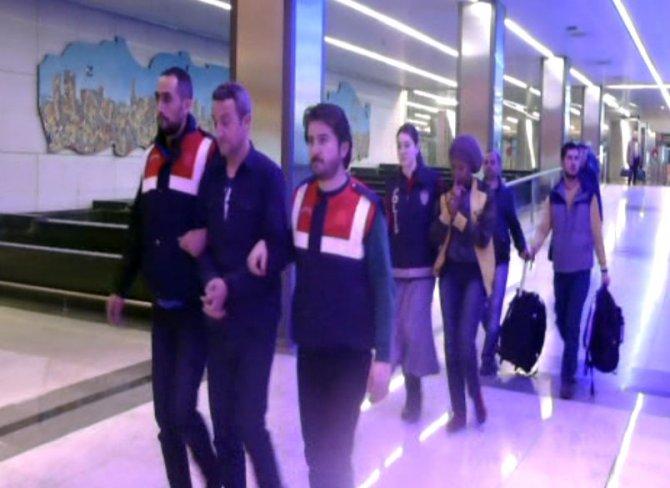Uganda'dan geldi Van'dan aldı İstanbul'da yakalandı