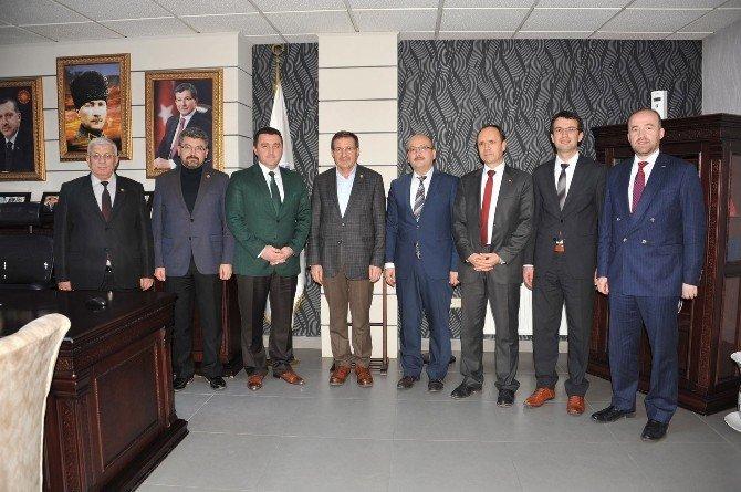 AK Parti Kocaeli Milletvekili İlyas Şeker Başkan Bakıcı'yı Ziyaret Etti