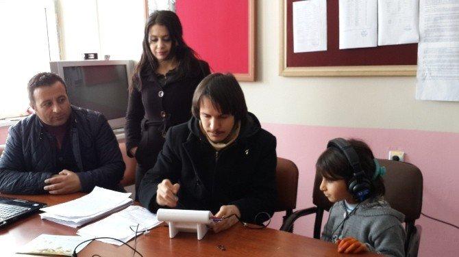 Ağrı'da Okul Çağı İşitme Tarama Programı Başladı