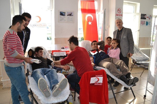 Alaçam Jandarmadan Kan Bağışı