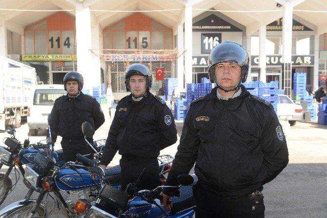 Toptancı Hali'nde Güvenlik Önlemleri Artırıldı
