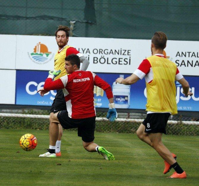 Antalyaspor, ÇAYKUR Rizespor Maçı Hazırlıklarını Sürdürdü