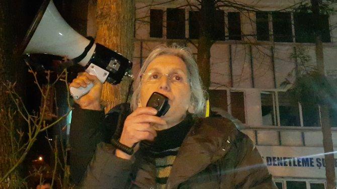 Artvin'de valilik önündeki eyleme ara verildi