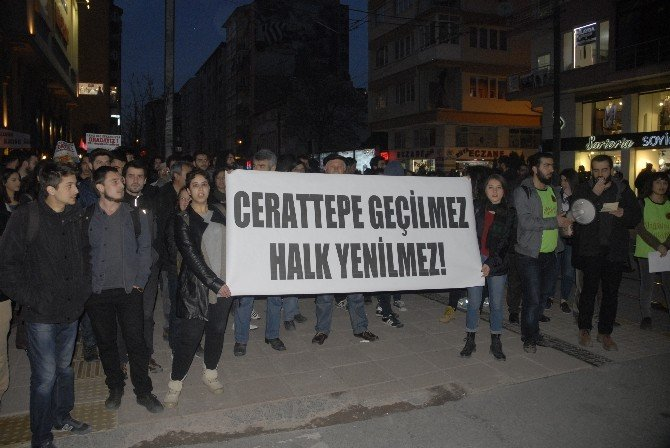 Eskişehir'de Cerattepe'ye Tulumlu Destek