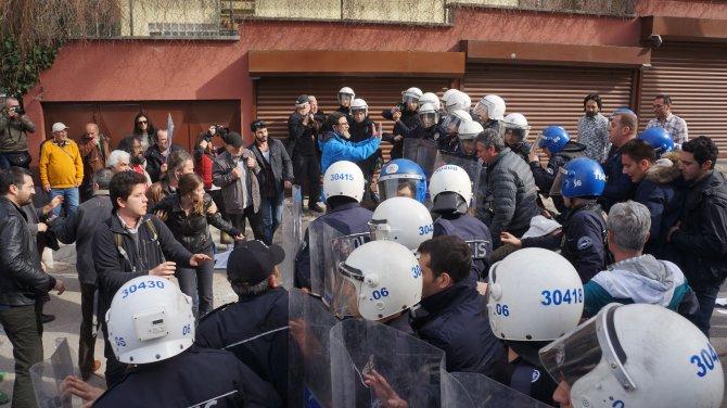 Cengiz Holding önünde 'Cerattepe' protestosu: 11 gözaltı