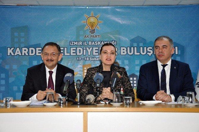 AK Partili Özhaseki: ''Hdp'li Belediyeler Bütçelerinin Tamamına Yakınını Personele Ayırıyor''