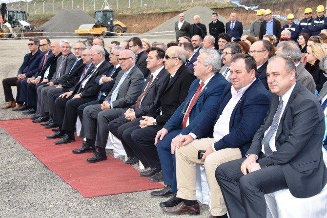 Başkan Eşkinat, Hacıköy Tesisleri Asfalt Plenti'nin Açılışına Katıldı