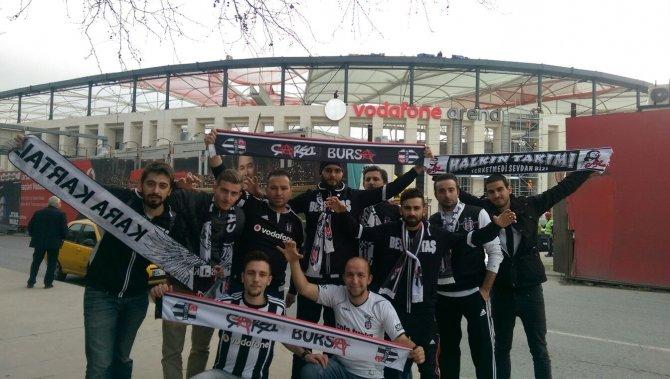 Beşiktaşlıları heyecanlandıran tabela