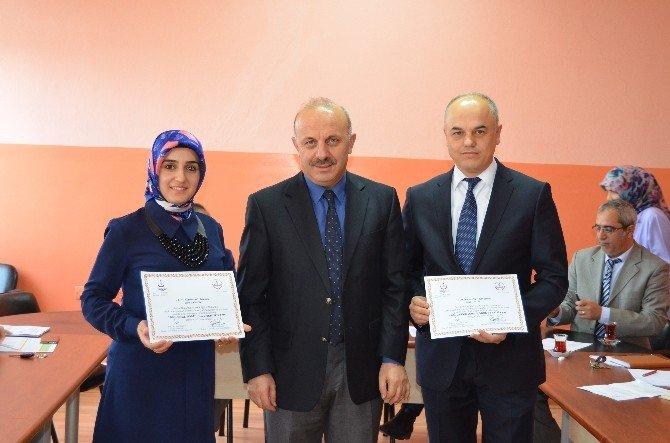 Söğüt'te Beslenme Dostu Okullar Sertifikalarını Aldı