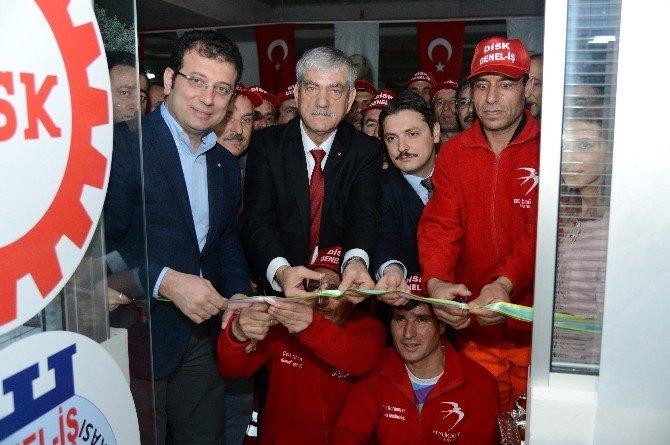 Beylikdüzü'ne DİSK Genel İş Sendikası 2 No'lu Şubenin Ek Hizmet Binası Açıldı