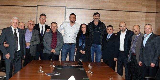 Türkoğlu'na, Bosna Sancak Kültür ve Dayanışma Derneği'nden ziyaret