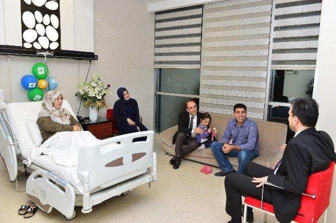 Başkan Edebali'den Beşiz Bebeklere Ziyaret