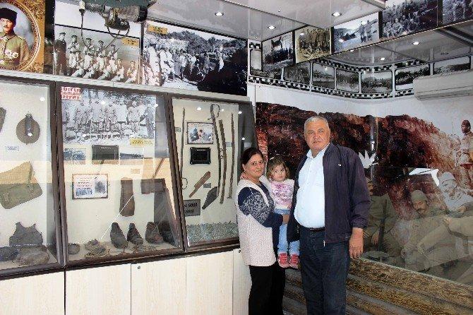 Çanakkale Gezici Tır Müzesi Ortaca'da