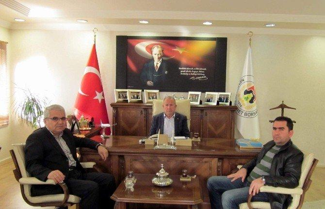 CHP İl Yönetimi Nevşehir Ticaret Borsasını Ziyaret Etti