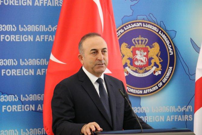 Çavuşoğlu: Bakü-Tiflis-Kars Demiryolu bizden dolayı gecikti