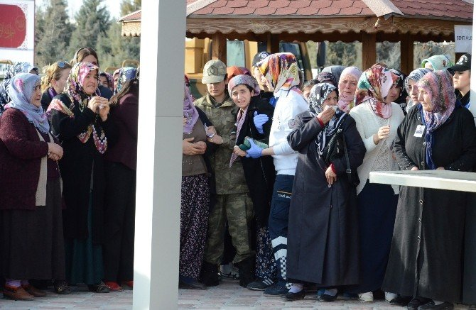 Şehit Jandarma Astsubay Mehmet Dinç Gözyaşlarıyla Toprağa Verildi