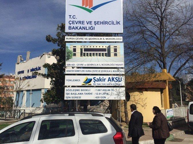 Şehircilik Bakanlığı Dönüşüme Kendi Binasından Başladı