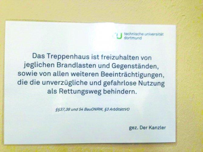 Dortmund Teknik Üniversitesi'nde ibadet odası kapatıldı