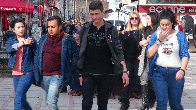 Edirne'de Termometreler 31 Dereceyi Gösterdi