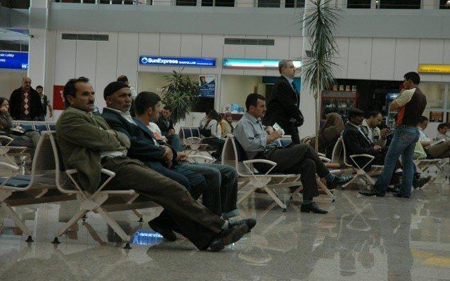Erzurum'da Hava Ulaşımına Sis Engeli